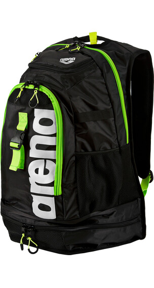 arena Fastpack 2.1 Backpack 45l dark grey/acid lime/white